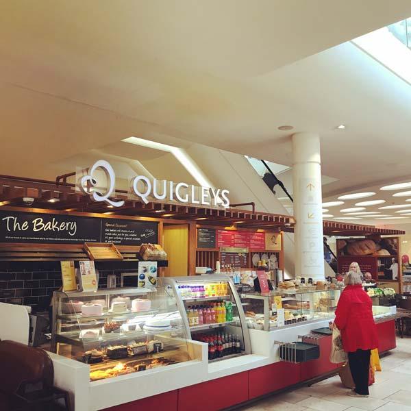 Quigleys cafe bakery and deli newbridge