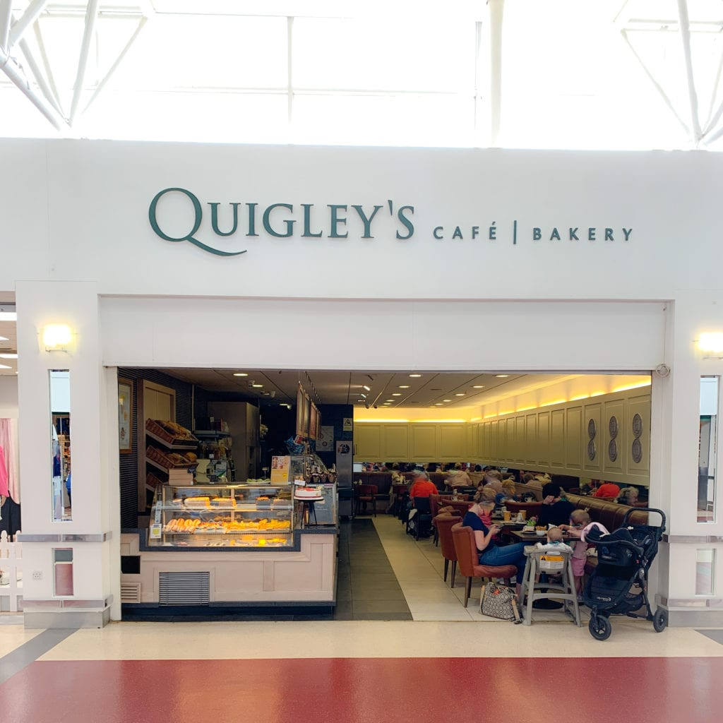 Quigleys cafe and bakery exterior