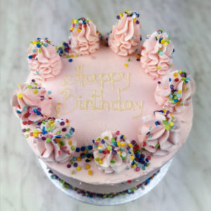 Tall Sprinkles Cake